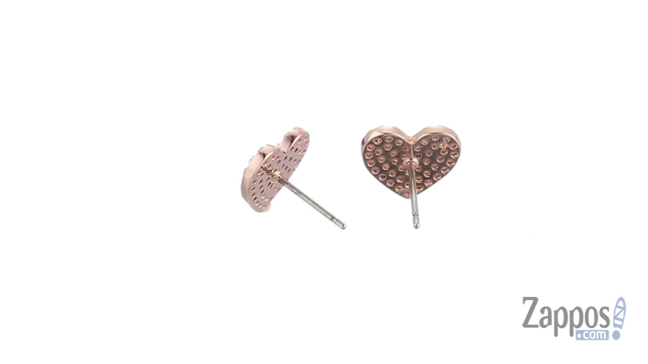 2020b91a26b3d Kate Spade New York Yours Truly Pave Heart Studs Earrings SKU: 8973947