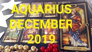 Aquarius ~ December 2019 ~ YOU'RE ON THE PATH TO SUCCESS!  Love & Money Psychic Tarot Card Reading