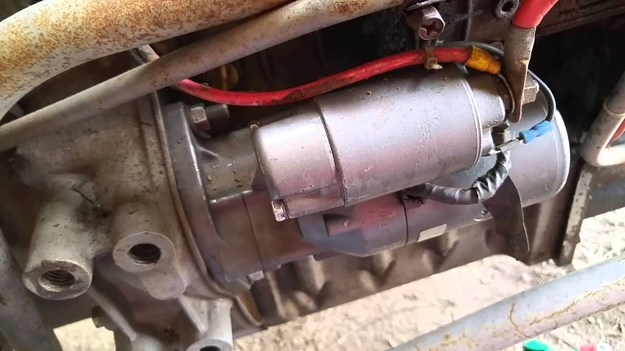 Diesel Ignition Switch Wiring Diagram Simple Guide About Volvo Mf Starter Youtube Penta Kubota