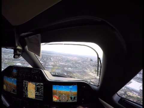 INSIDE NV JETS' PHENOM 100 COCKPIT GoPro [HD] Private Jet