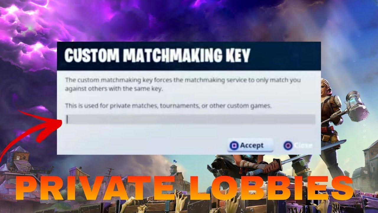 best matchmaking quiz fortnite custom game key