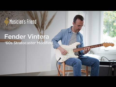 Fender Vintera '60s  Stratocaster Modified Demo - All Playing, No Talking