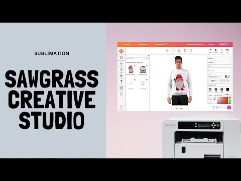 NEW CreativeStudio For Sawgrass | How To