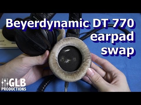 Beyerdynamic DT 770, 880 & 990 earpad replacement
