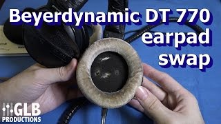 Beyerdynamic DT 770, 880 & 990 earpad replacement