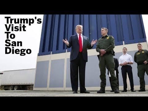 Trump's Visit To San Diego   San Diego Union-Tribune