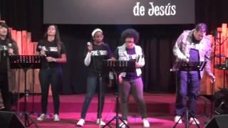 Alabanza y Adoración en Culto de Jóvenes en junio 26 2016 - Ministeri Sanador