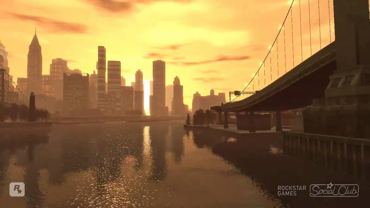 Gta Iv Sunset Youtube