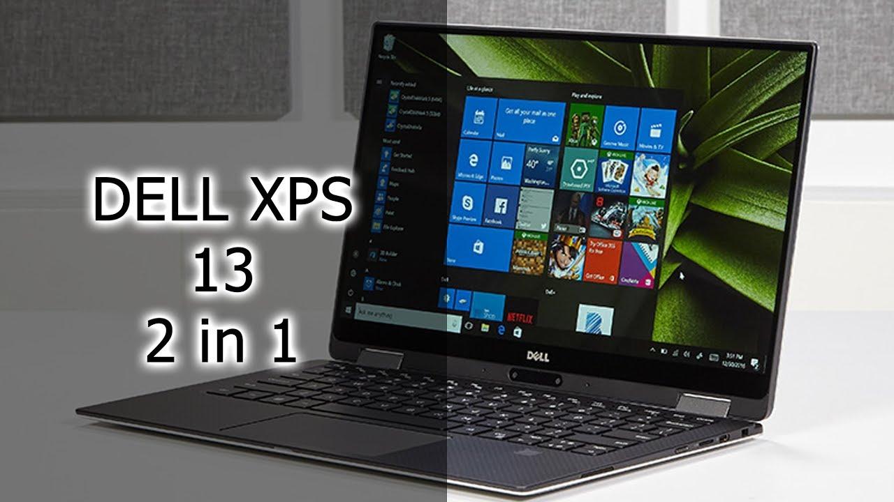 Обзор ноутбука Dell XPS 13'' 2 in 1 (2017)