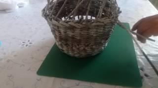 Газетное плетение. Загибка