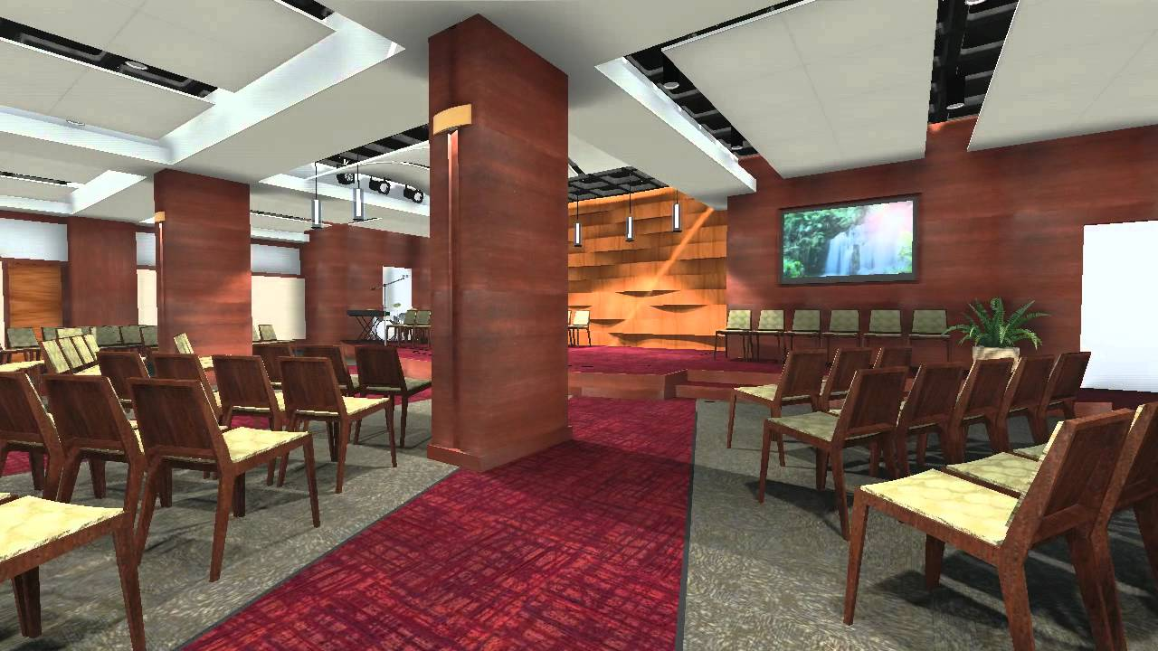Rccg restoration center interior design animation youtube - What is interior design ...