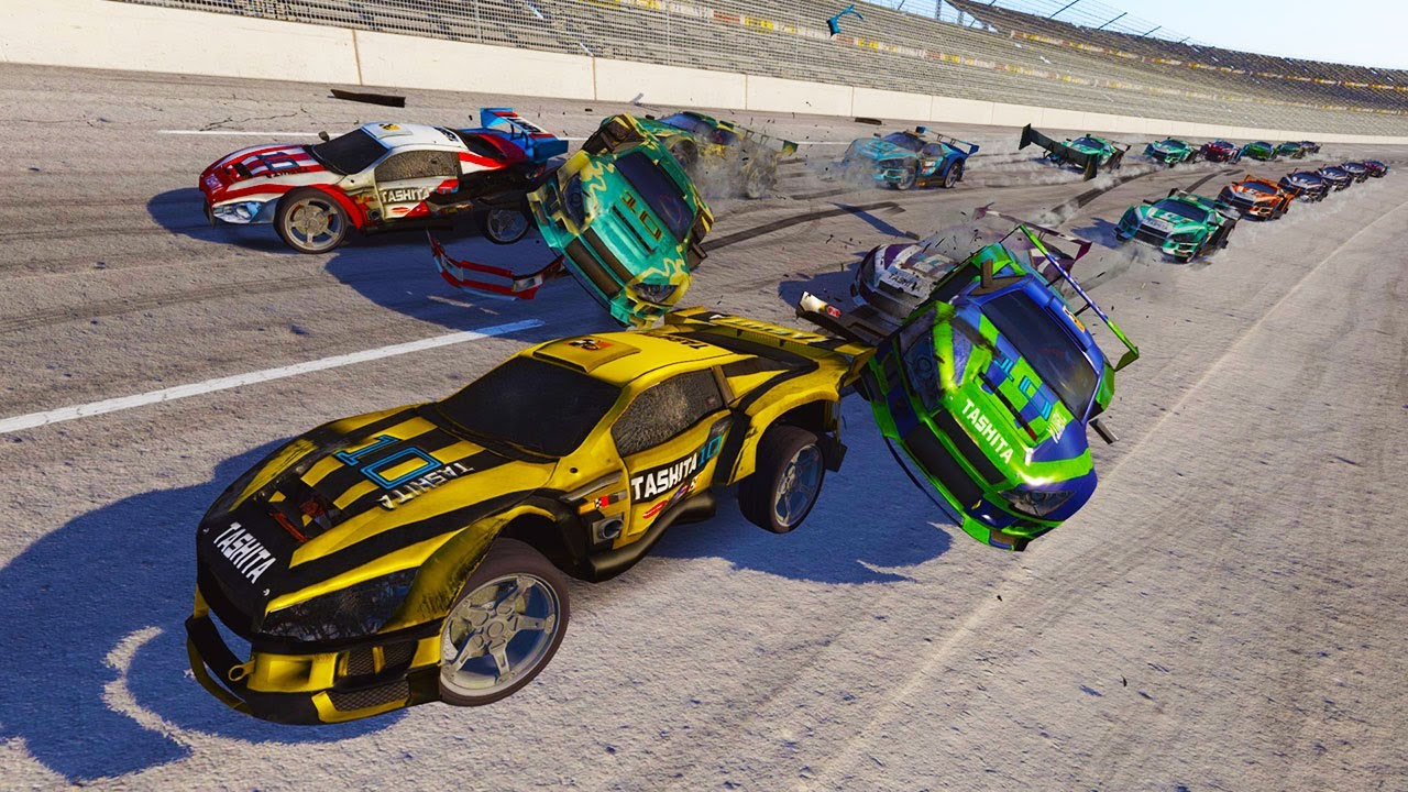The Future Of Nascar Carmageddon At Talladega Next Car Wreckfest Mods