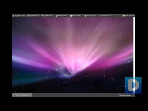 How To Make Windows 7 / Vista Look Like Mac OS X