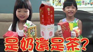 是奶還是茶2017 ♠奶茶魔術教學♠ 感謝粉絲贊助義美厚奶茶空盒一個XD thumbnail