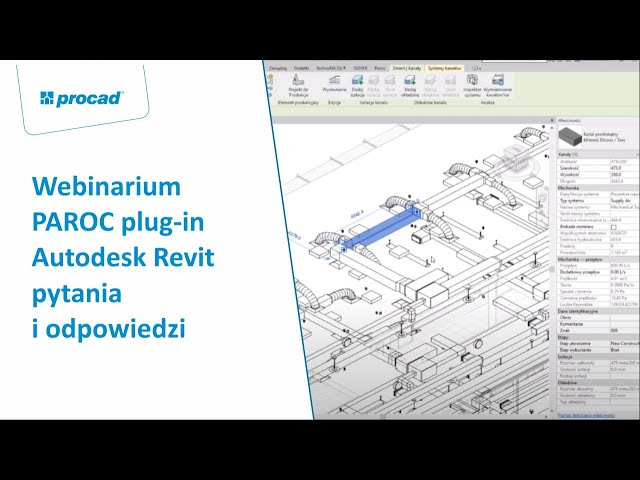Webinar: PAROC plug-in Autodesk Revit - pytania i odpowiedzi