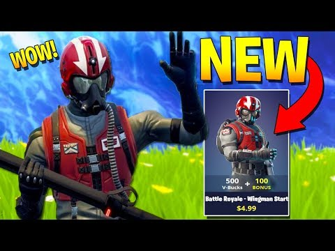 FORTNITE WANTS YOU TO BUY THIS SKIN! (Fortnite Wingman Starter Pack)