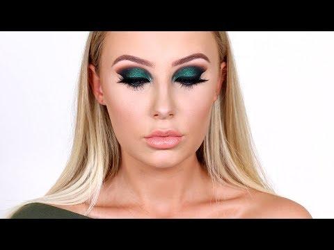 FOREST GREEN SMOKEY EYE / Fenty Beauty Review   Lauren Curtis