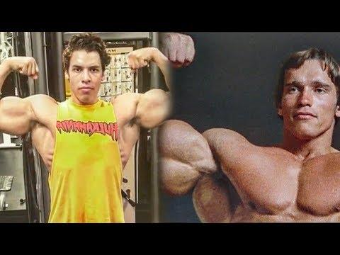 Arnold Schwarzeneggers Son Training In The Gym 2019 - Similar Bodybuilding Genetics