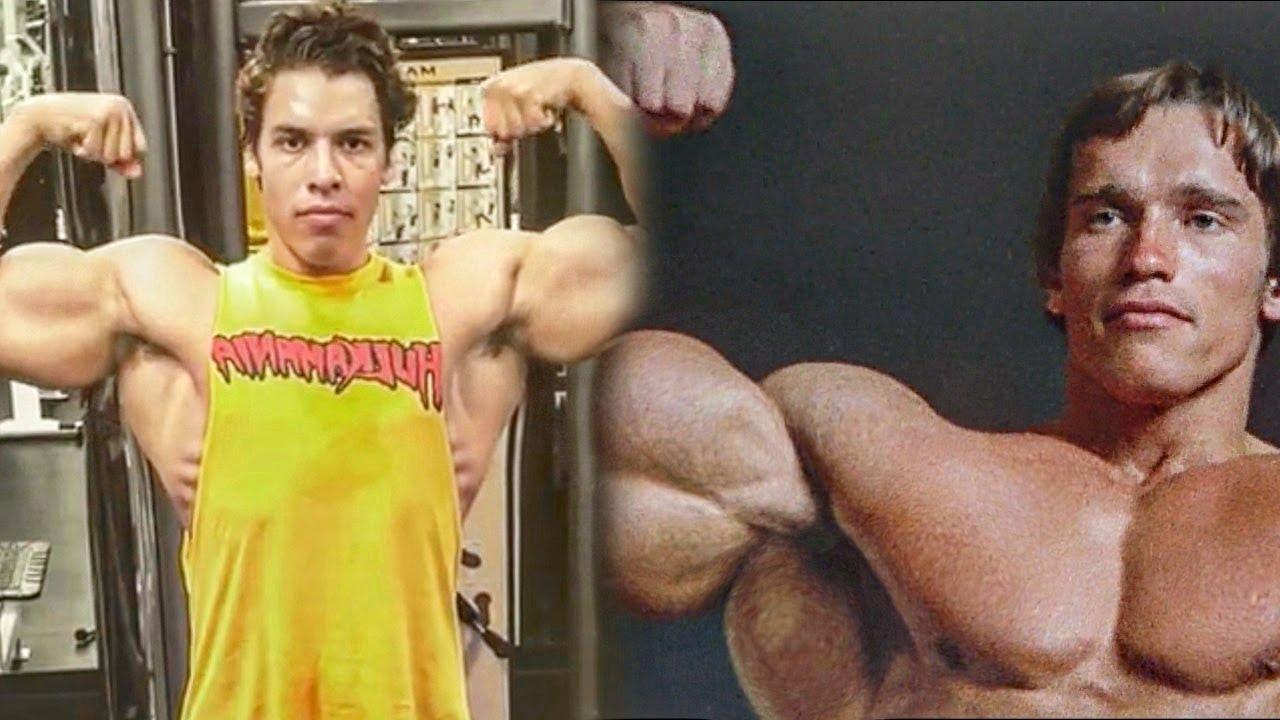 Arnold Schwarzenegger's Son Training In The Gym 2019 - Similar Bodybuilding  Genetics