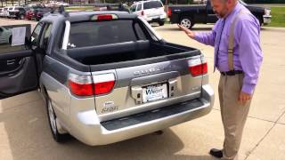 Demonstration of Subaru Baja's unique features thumbnail