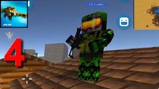 Mad GunZ- FPS, block shooter, pixel shooting games Walkthrough Part 4 Android Gameplay HD