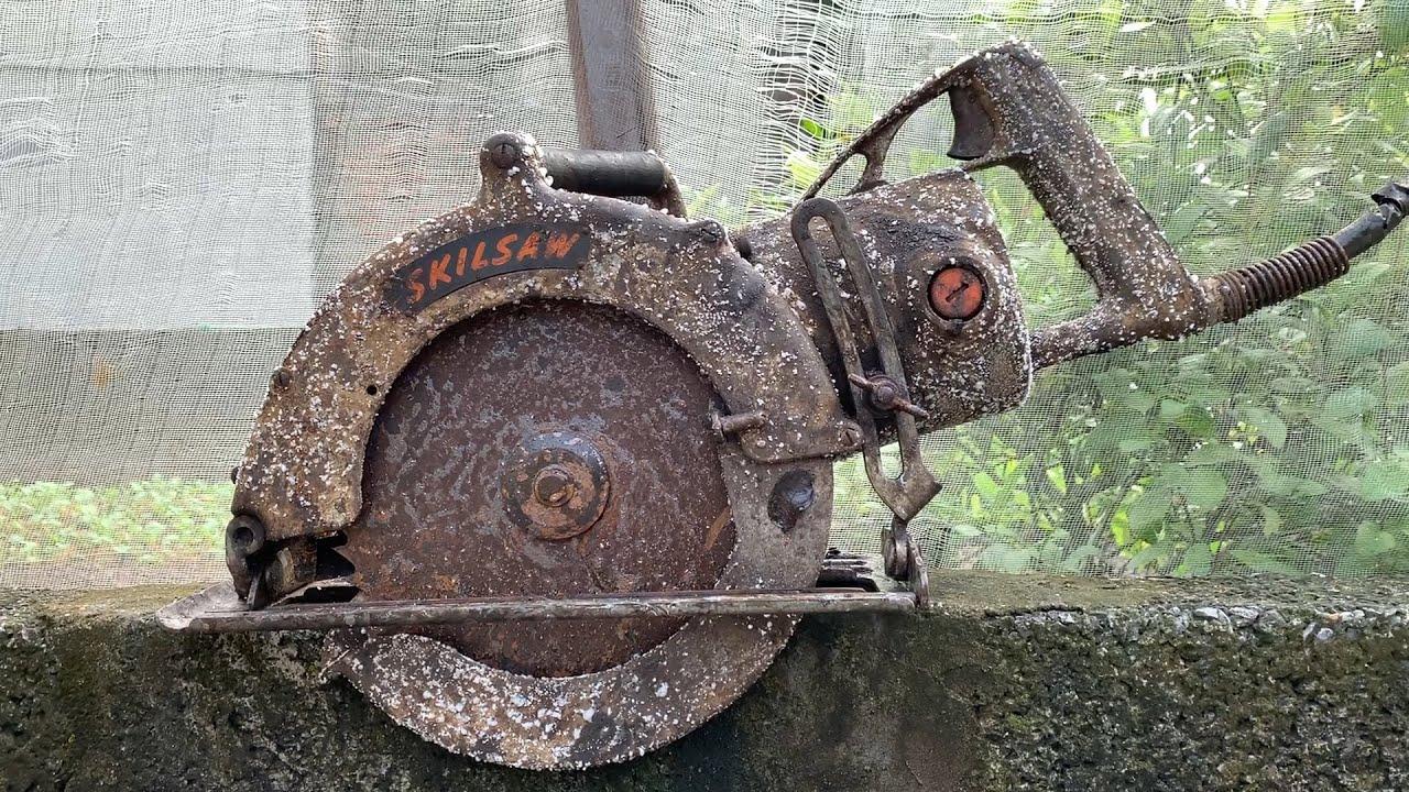 Restoration Old skilsaw | Restoring Worm Drive Heavy Duty Corded Circular Saw