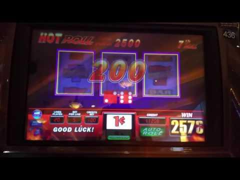 Super Hot Roll Bonus.  Slot Machine