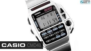 Reloj Casio Retro CMD40 Metal - www.CompraFacil.mx