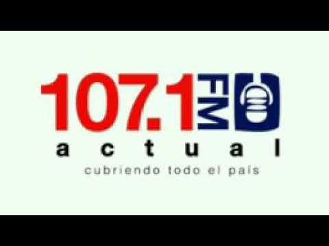 Identificación de Radio Actual 107.1 FM Costa Rica