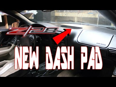 DASH PAD REPLACEMENT 97-02 CAMARO FIREBIRD TRANS AM