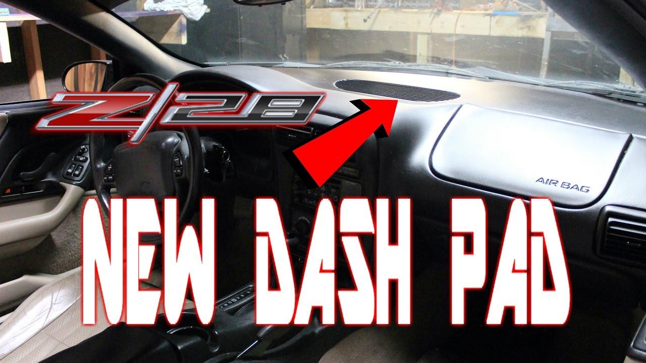 New Trans Am >> DASH PAD REPLACEMENT 97-02 CAMARO FIREBIRD TRANS AM - YouTube