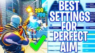 Best Controller Sensitivity for PERFECT AIM (Fortnite AIM TIPS)