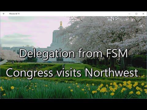 FSM Delegation Visits Salem, Oregon