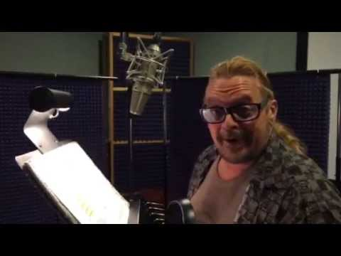 World Of Warcraft Voice Over session with Marc Graue
