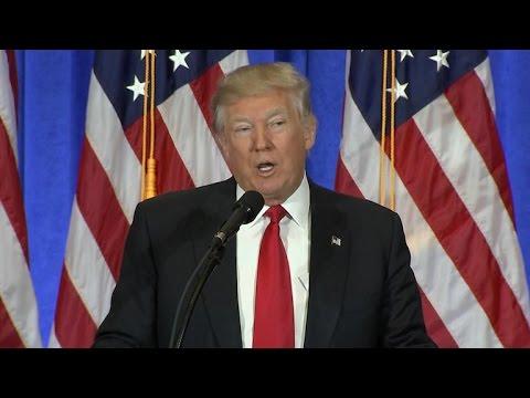 Full Trump Press Conference