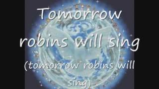 Tomorrow Robins Will Sing (Robi Kahakalau),w/lyrics