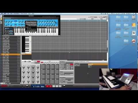 Akai MPC Software - Step By Step Tutorial - Sequencing & Tracking Out Instruments