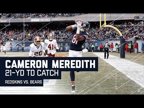 Matt Barkley Tosses a TD Strike to Cameron Meredith! | Redskins vs. Bears | NFL Week 16 Highlights