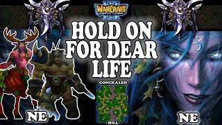 Grubby | Warcraft 3 TFT | 1.30 | NE v NE on Concealed Hill - Hold On For Dear Life!