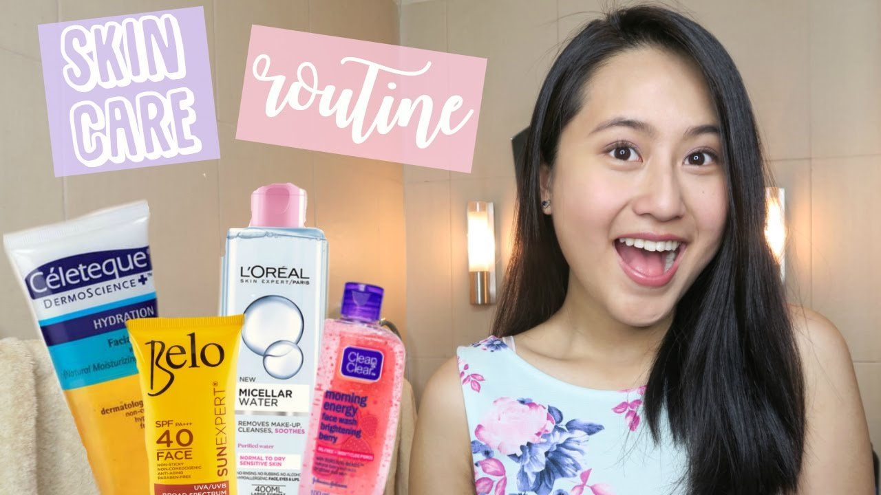 Skin Care Routine For Teens! (Philippines) | Lexy ...