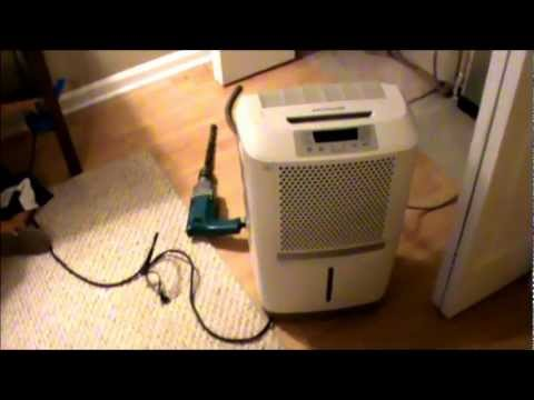 dehumidifier continuous drain hookup