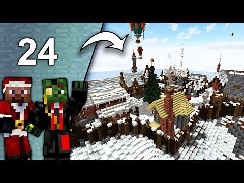 Komplette RUNDTOUR mit TJC, LarsLP, Croco, uvm.! - Minecraft Adventskalender #24 from YouTube · Duration:  26 minutes 27 seconds
