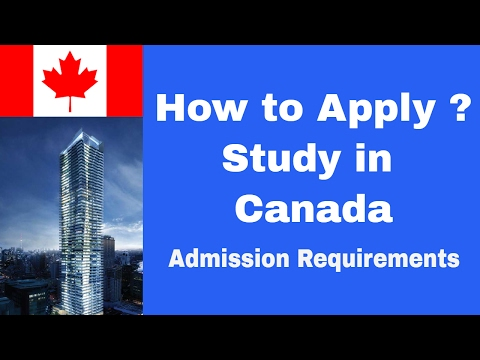Admission Requirements to Apply  Masters in Canada, Study in Canada, Study Masters in Canada