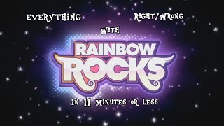 Everything Right/Wrong With Rainbow Rocks in 11 Minutes or Less (CinemaSins Parody)