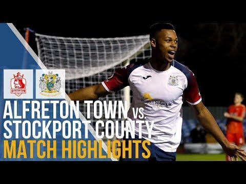Alfreton Town Vs Stockport County - Match Highlights - 22.12.2018