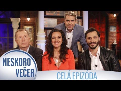 Braňo Deák, Karin Majtánová a Stanislav Miertuš v Neskoro Večer - CELÁ EPIZÓDA