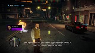 Saints Row IV gameplay ps4