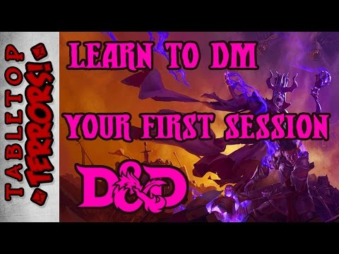 Learn to DM - Your Very First Session (Session 0)