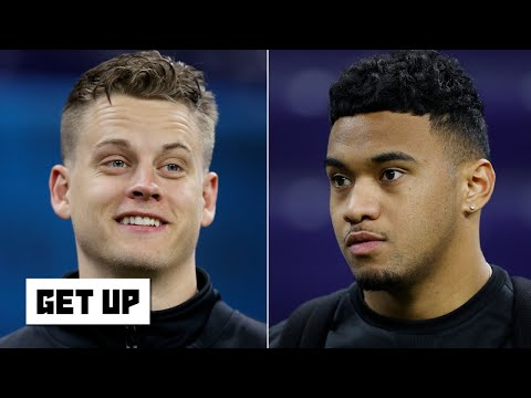Is Joe Burrow or Tua Tagovailoa the better QB when both are healthy? | Get Up