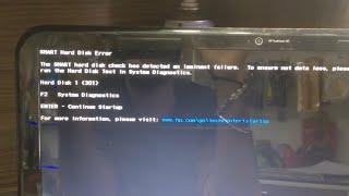 Hp Hard Disk Error 301